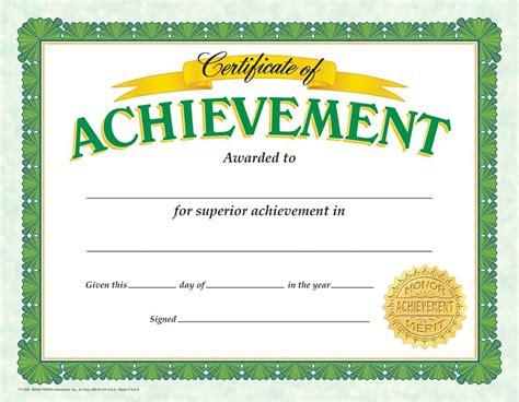 certificate of achievement classic 30 pk t 11305