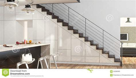 moderne boden kerzenständer moderne treppen stock abbildung bild 56388380