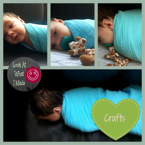 swaddle swing shush diy coloured swaddling blanket look at what i made