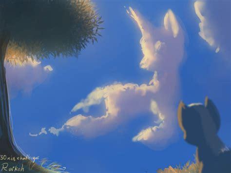 unicorn cloud cloud looks like a unicorn by raikoh illust on deviantart