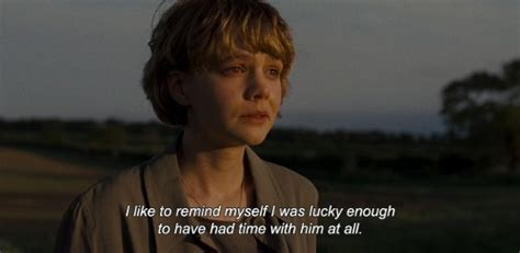 quotes film never let me go i like to remind myself i was lucky enough to have had