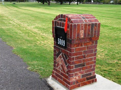 how to decorate a square brick mailbox for christmas brick mailbox kit classics that never fail umpquavalleyquilters