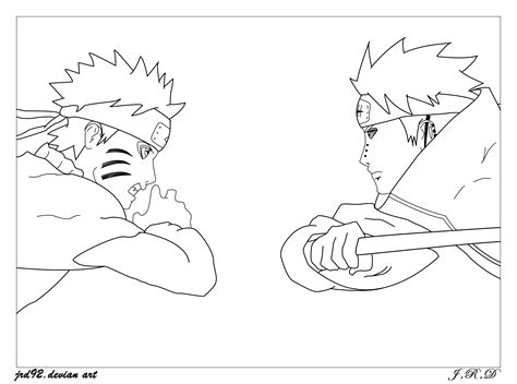 pain naruto coloring pages naruto pain coloring pages freecoloring4u com