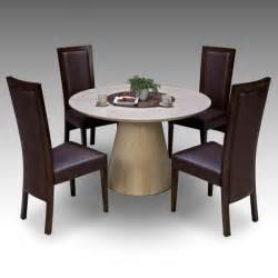 Marble Dining Chairs Modern Marble Dining Table And 4 Chairs Furnitureinfashion Uk