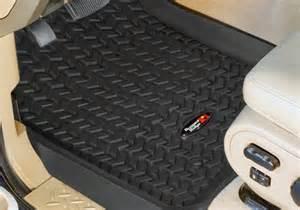 2008 Jeep Wrangler Floor Mats Rugged Ridge Jeep Wrangler All Terrain Floor Liners