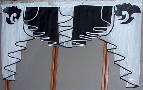 gardinen schwarz weiß gestreift sch 246 ne deko gardine schwarz wei 223 ca 120 cm x 70 cm neu