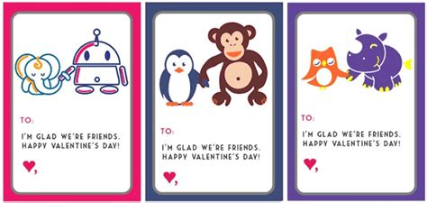 friendship card template free printable 30 cool printable s cards for the classroom