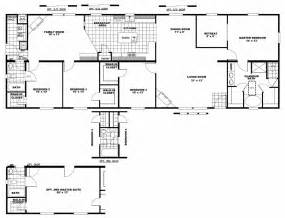 Two Master Bedroom Floor Plans by Manufactured Homes Clayton Sed 2876 4a Blue Diamond