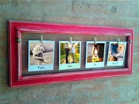 decorar con marcos vacios 10 formas portaretratos con materiales reciclados bricolaje10