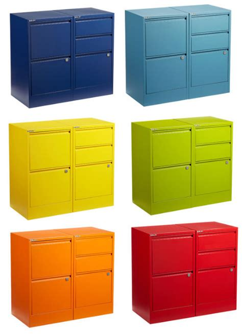 Colored Filing Cabinet by A Rainbow Of File Cabinets Shoplet