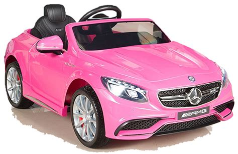 Kinder Auto Pink by Mercedes S63 Amg Pink Rosa