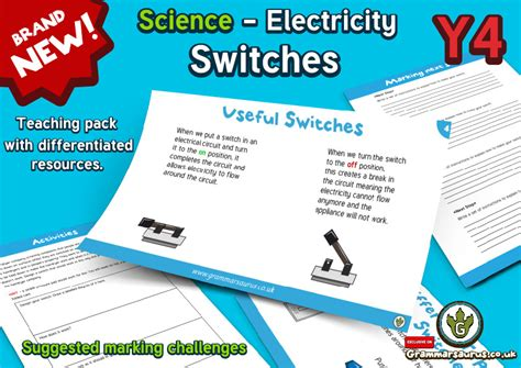 primary science electricity electrical conductors year 4 28 images electrical