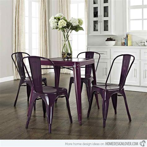 Purple Dining Room Set by 15 Posh Purple Dining Room Furniture Home Design Lover