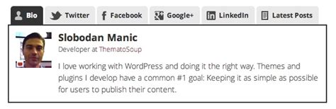 short biography for facebook enhance your author bios with these wordpress plugins
