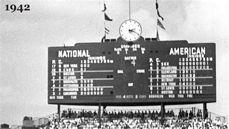 Fields Of Green Original Board wrigley field scoreboard throughout the years chicago
