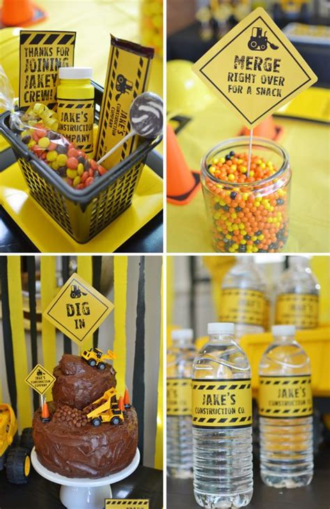 construction theme decorations construction themed cool ideas