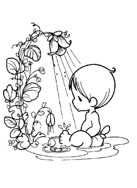 love themed coloring page free color pages drawing pinterest precious moments