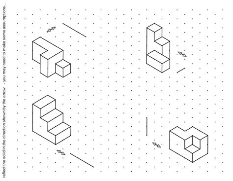 Drawing 3d Shapes Worksheet by Paper Drawing 3d Shapes On Isometric Paper Worksheet