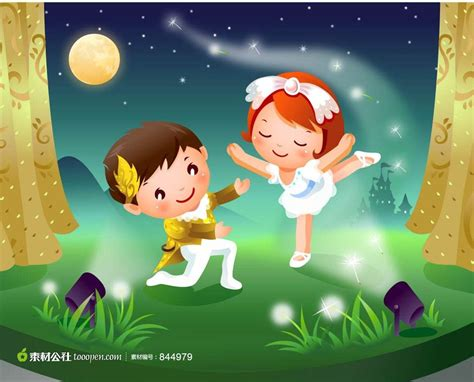 imagenes niños bailando 跳拉丁舞的可爱卡通儿童 素材公社 tooopen com