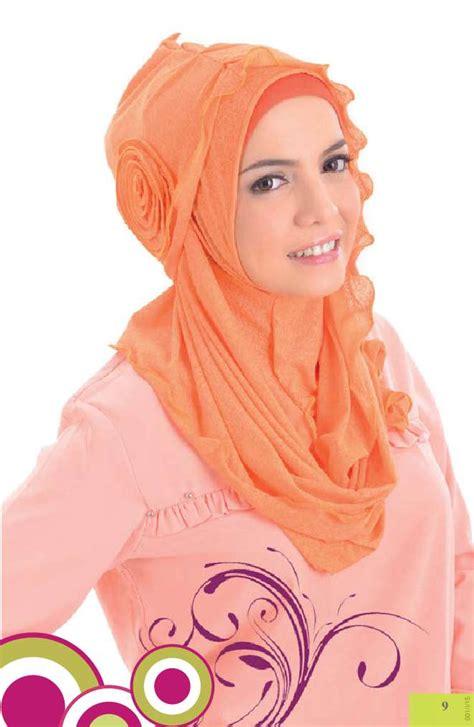 Macam Kerudung Instan Jual Buku 40 Gaya Kerudung Instan Syria Tutorial Jilbab
