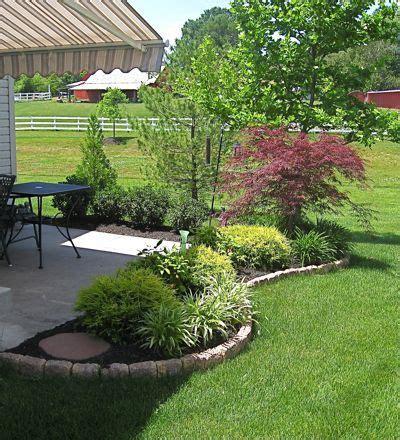 patio garden ideas landscape around patio backyard patio designs search five acres of