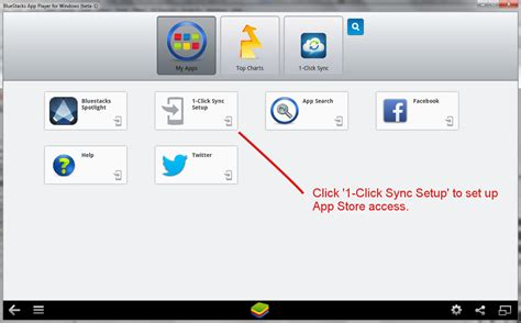 bluestacks enable app sync how to download install and configure bluestacks on