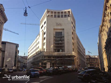 banca i roma cordusio il palazzo banco di roma torna a