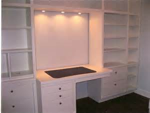 Bookshelves And Desk Built In Egt Contracting Work Areas