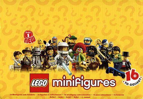 Lego Graphic 18 collectable minifigures series 01 brickset lego set