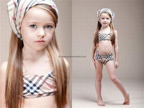 illegal little 12 old models 天真可爱的俄罗斯萌娃小模特 组图 图说世界 东南网