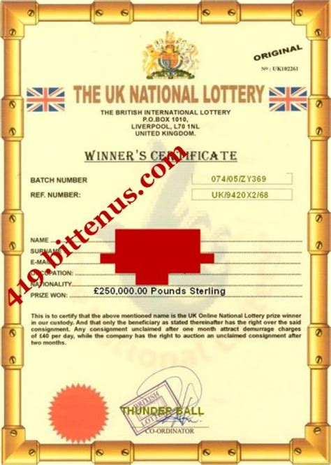 International Lottery Sweepstakes - lottery sweepstakes consumer information autos post