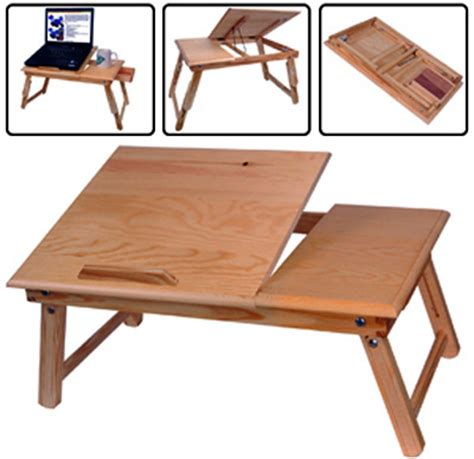 bed food tray laptop notebook tilting table bed food tray drawer desk