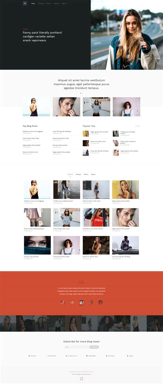 brook lifestyle blog joomla template
