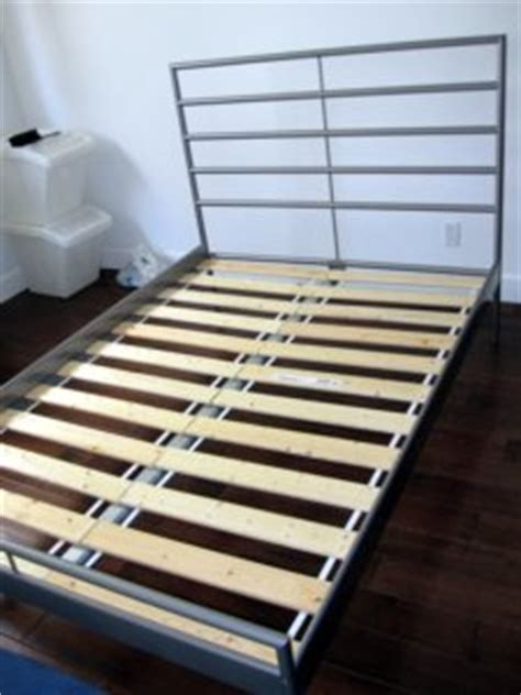 Heimdal Bed Frame Completed Flat Pack Specialists Nyc