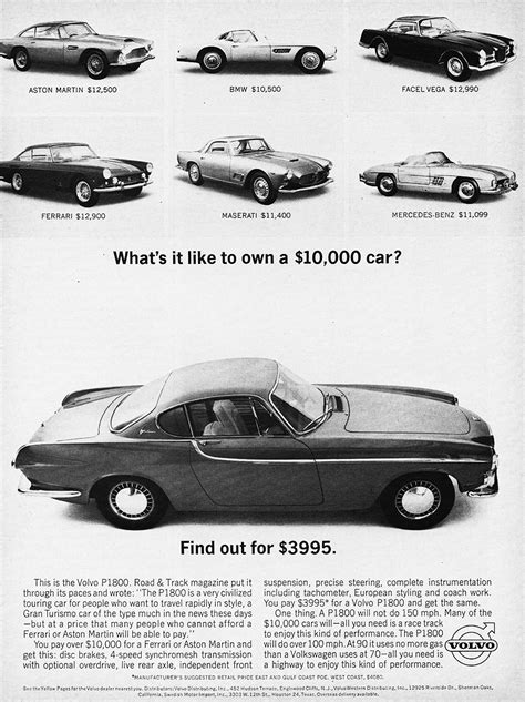 volvo p ad classic cars today