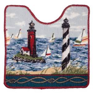 Nautical Bath Rug Sets Nautical Bathroom Rug Sets Image Mag