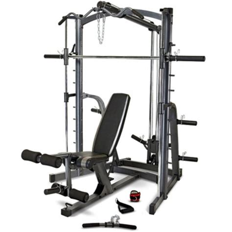 weight bench system marcy mwb1282 home gym smith machine weight bench