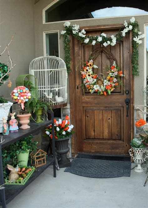 spring decor 2017 10 easter porch decor ideas page 11 of 11 moody mooch