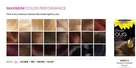 garnier olia hair color shades brown hairs of garnier