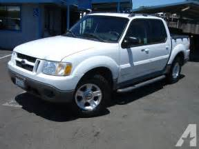 2001 Ford Explorer Sport For Sale 2001 Ford Explorer Sport Trac For Sale In Sacramento