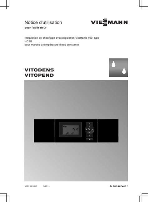 Chaudière Viessmann Vitodens 222 3783 recherche viessmann vitola 111 chaudi 195 168 re