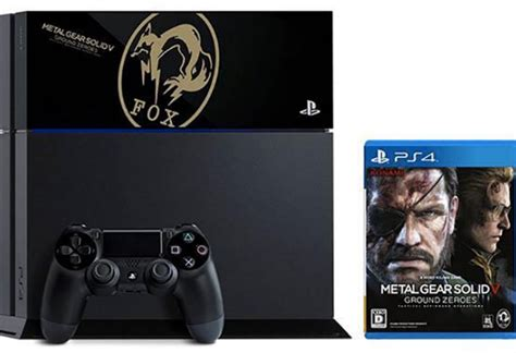 metal gear solid 5 console metal gear solid 5 ps4 console with fox edition product