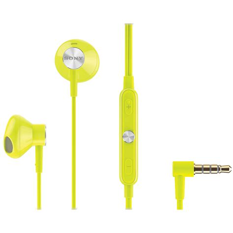 Sony Stereo Headset Sth30 Original headsets stereo headsets yellow 167296 sony quickmobile