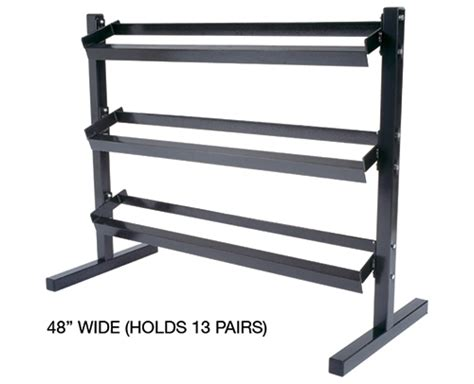 york dumbbell rack 13 pair