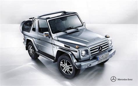 mercedes jeep convertible mercedes benz g500 cabrio w463 cutest suv around 2