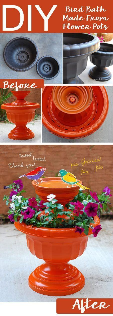 30 adorable diy bird bath ideas that are easy and fun to build diy bird bath
