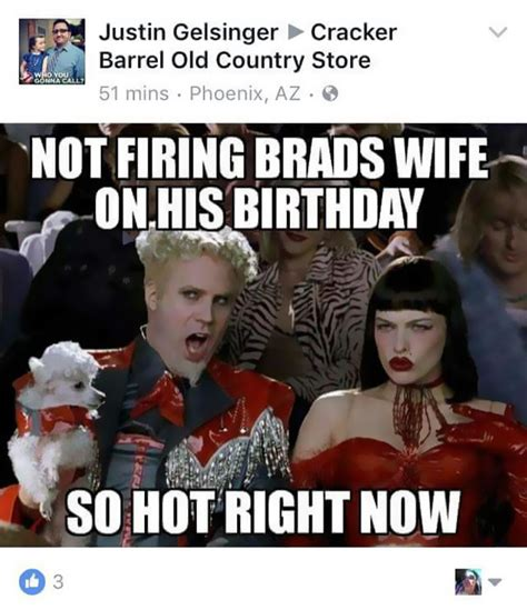 Internet Wife Meme - husband asks cracker barrel why his wife was fired after