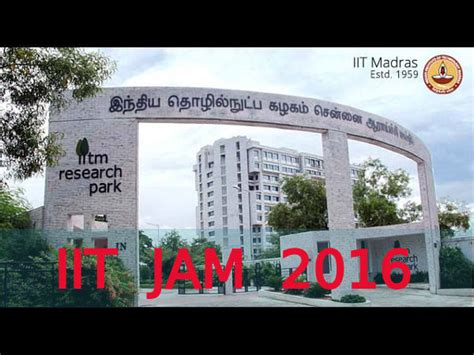 Iit Madras Mba Admission Criteria by Iit Jam 2016 Registrations Begin Today Careerindia