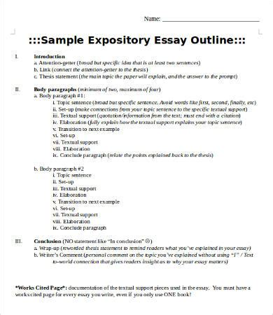 Expository Essay Process Analysis by Expository Essay Writing Process
