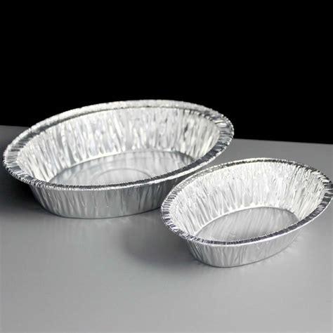 Aluminium Foil Oval Tanggung oval foil steak kidney pie dish